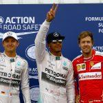 Lewis Hamilton en Pole Position !