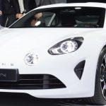 The new Alpine unveiled in Monaco