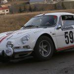Perfetti and Kessel won the 19th Rally Monte-Carlo Historique