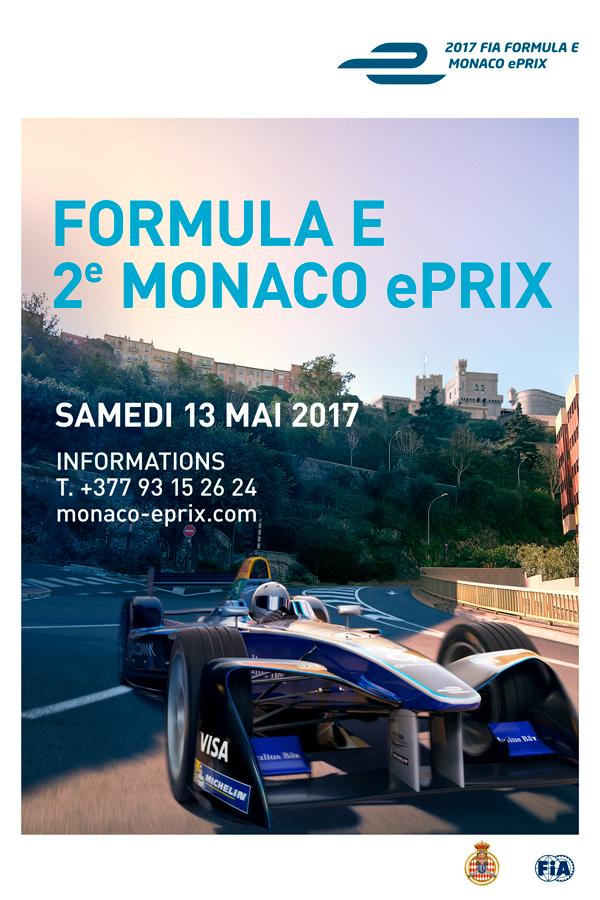 Affiche Monaco ePrix 2017