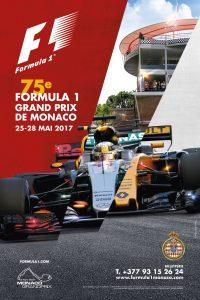 affiche Grand Prix de Monaco F1 2017