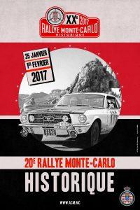 affiche Rallye Monte-Carlo Historique 2017