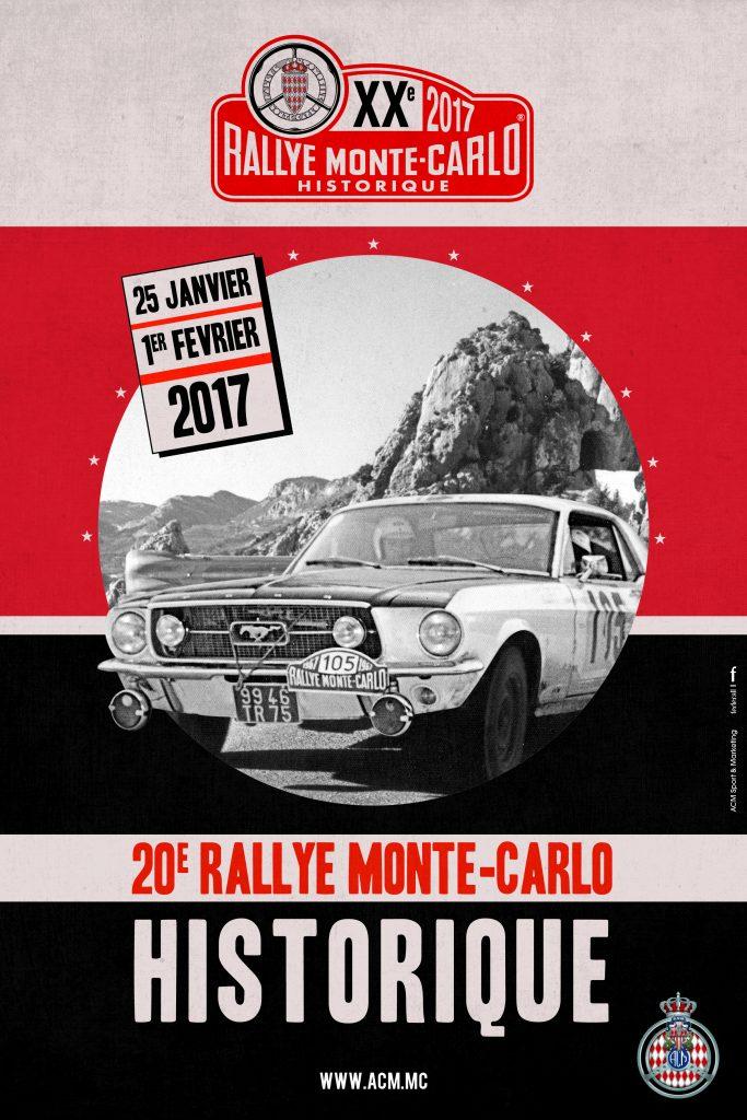 Poster Rallye Monte-Carlo Historique 2017