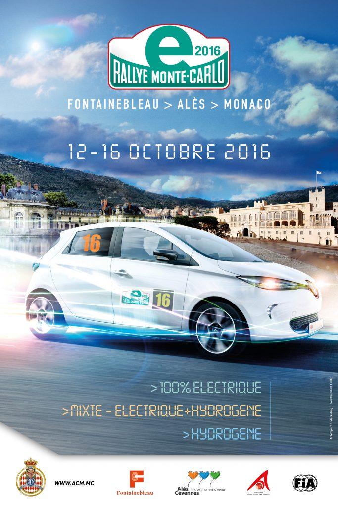Affiche E-Rallye 2016