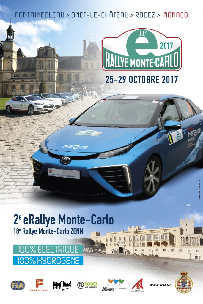 Affiche E-Rallye Monte-Carlo 2017