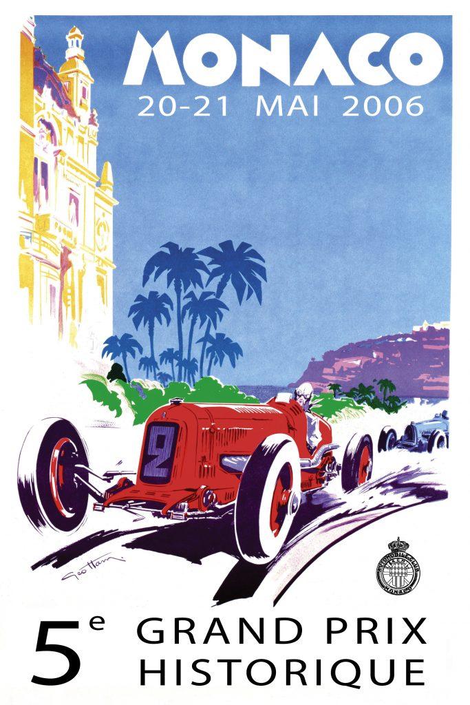 Affiche Grand Prix de Monaco Historique 2006