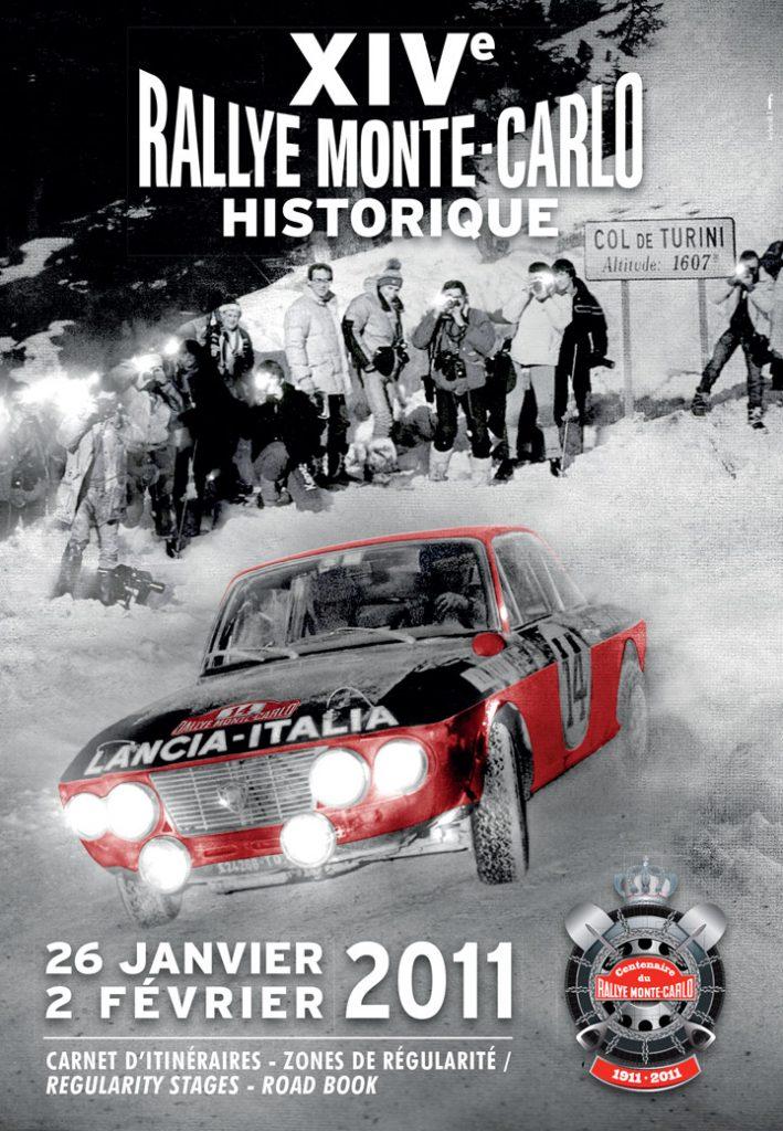 Affiche Rallye Monte-Carlo Historique 2011