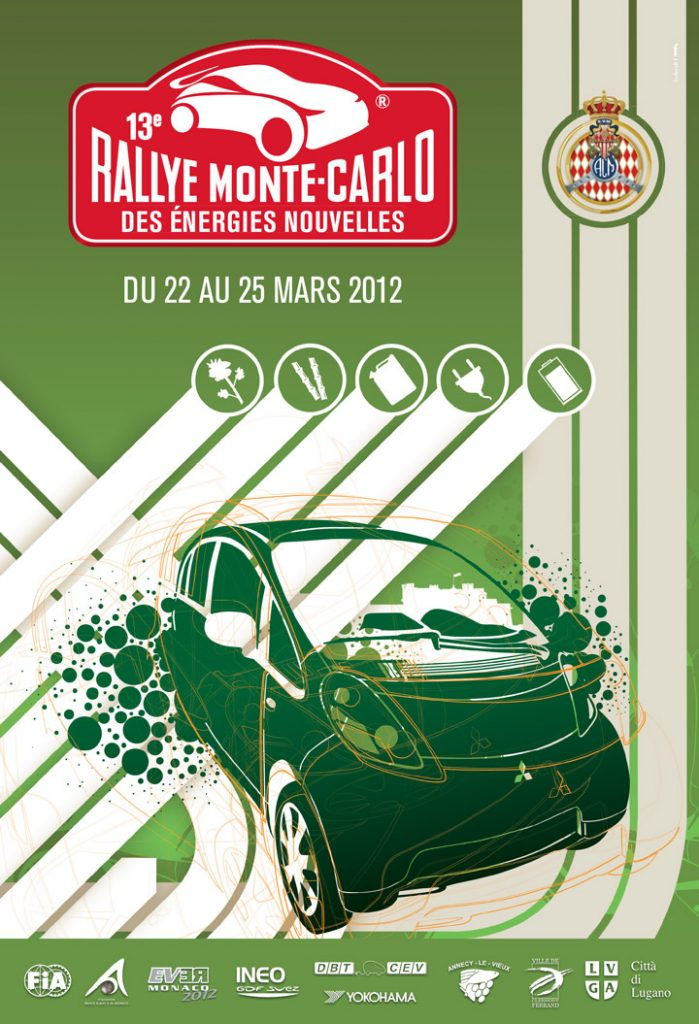 Affiche E-Rally 2012