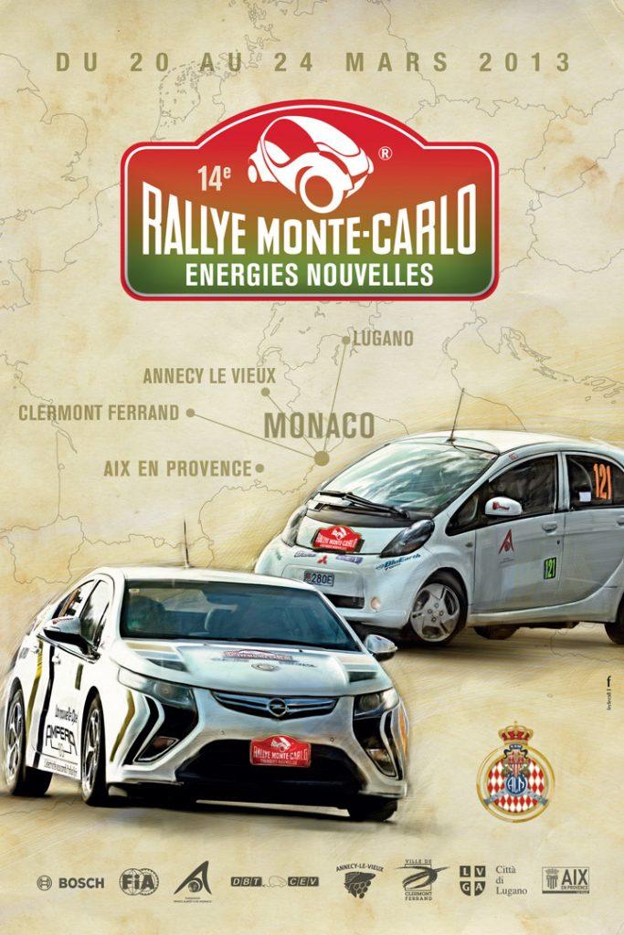 Affiche e-Rallye 2013