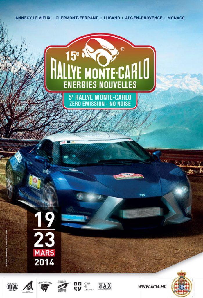 Affiche E-Rally 2014