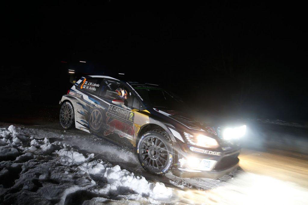 latvala jm anttila m (fin) VW polo R WRC n°2 2016 RMC (JL)-001