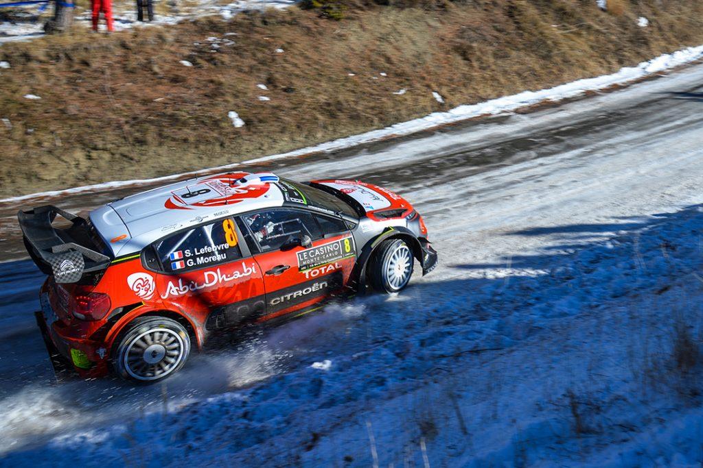 lefebvre s moreau g (fra) citroen C3 WRC+ n°8 2017 (JL)-011  © Jo Lillini