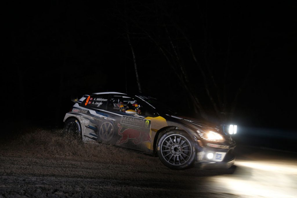 mikkelsen a jaeger synnevag a (nor) VW polo R WRC n°9 2016 RMC (JL)-001  © Jo Lillini