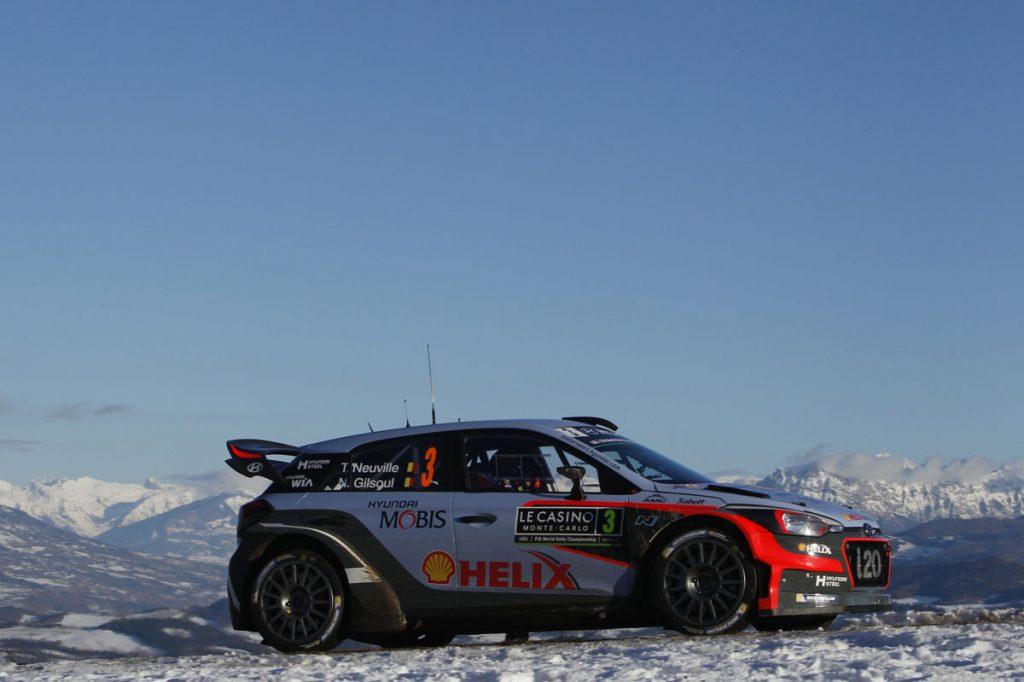 neuville t gilsoul n (bel) hyundai I20 WRC n°3 2016 portrait podium RMC (JL) -64  © Jo Lillini