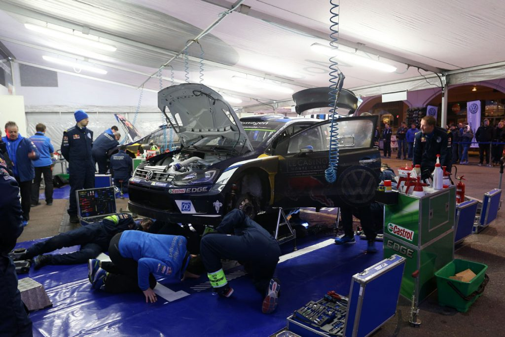 ogier s ingrassia j (fra) VW polo R WRC n°1 2016 portrait service RMC (JL) -50  © Jo Lillini