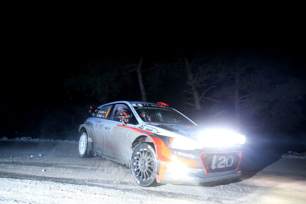 sordo d marti m (esp) hyundai I20 WRC n°4 2016 RMC (JL)-001