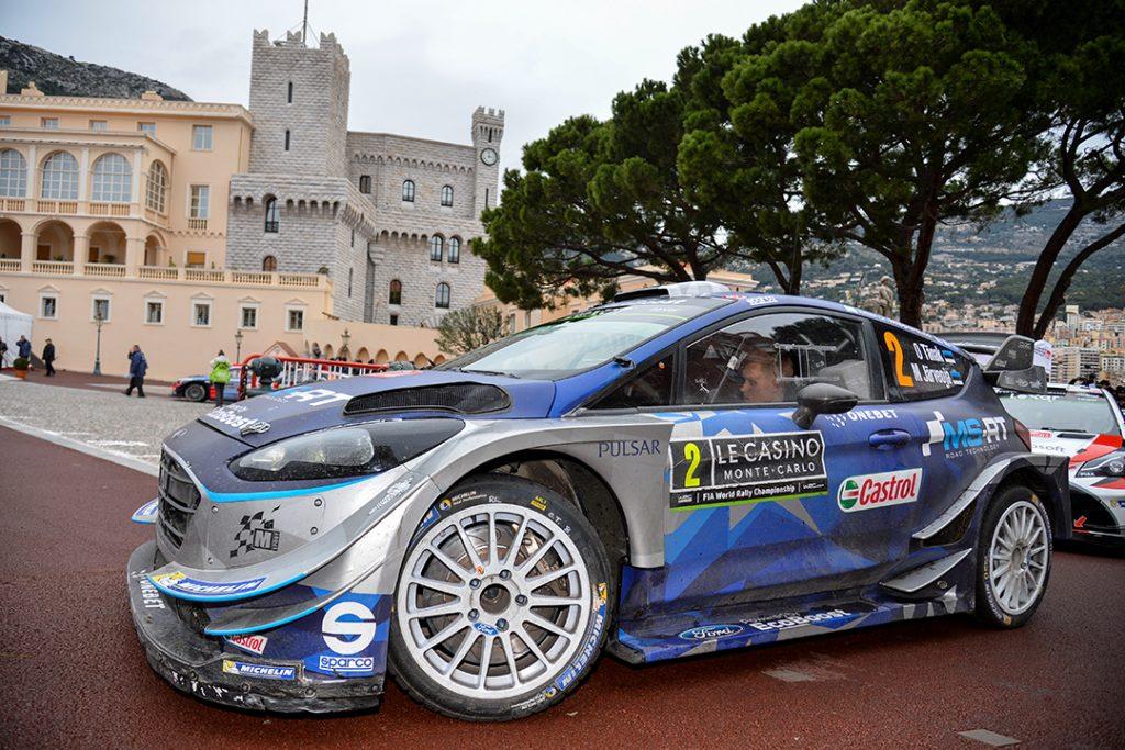 tanak o molder r (est) ford fiesta RS WRC + n°2 2017 RMC (JL)-015
