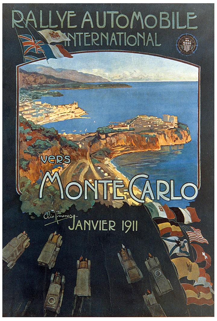 RALLYE MONTE-CARLO 1911