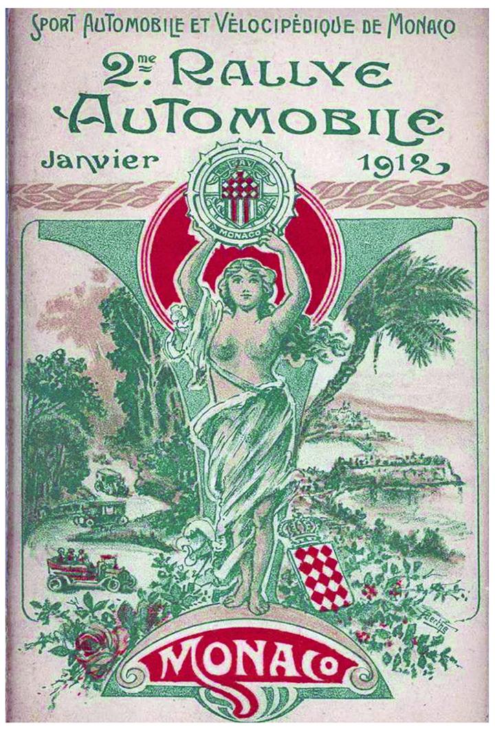 RALLYE MONTE-CARLO 1912