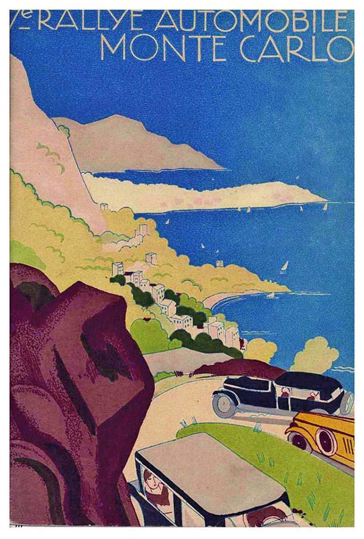 RALLYE MONTE-CARLO 1928