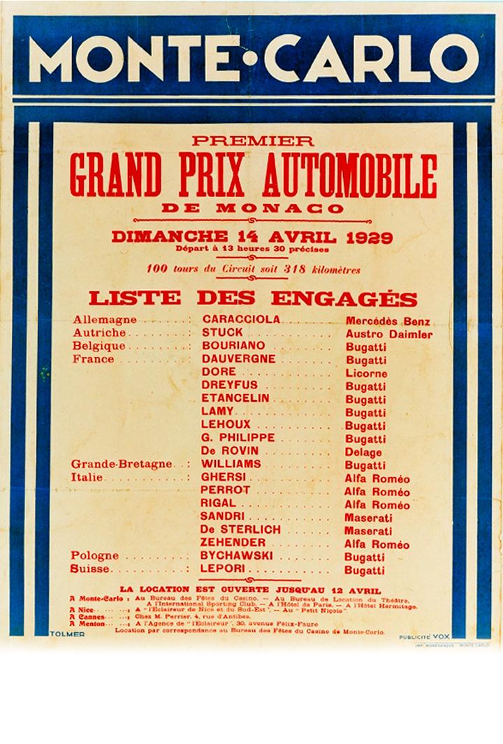 GRAND PRIX 1929