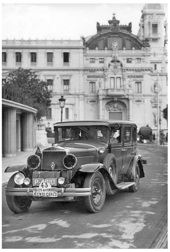 RALLYE MONTE-CARLO 1929