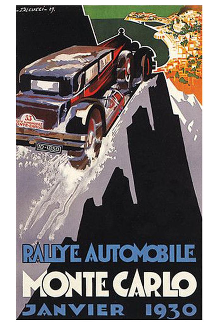 RALLYE MONTE-CARLO 1930