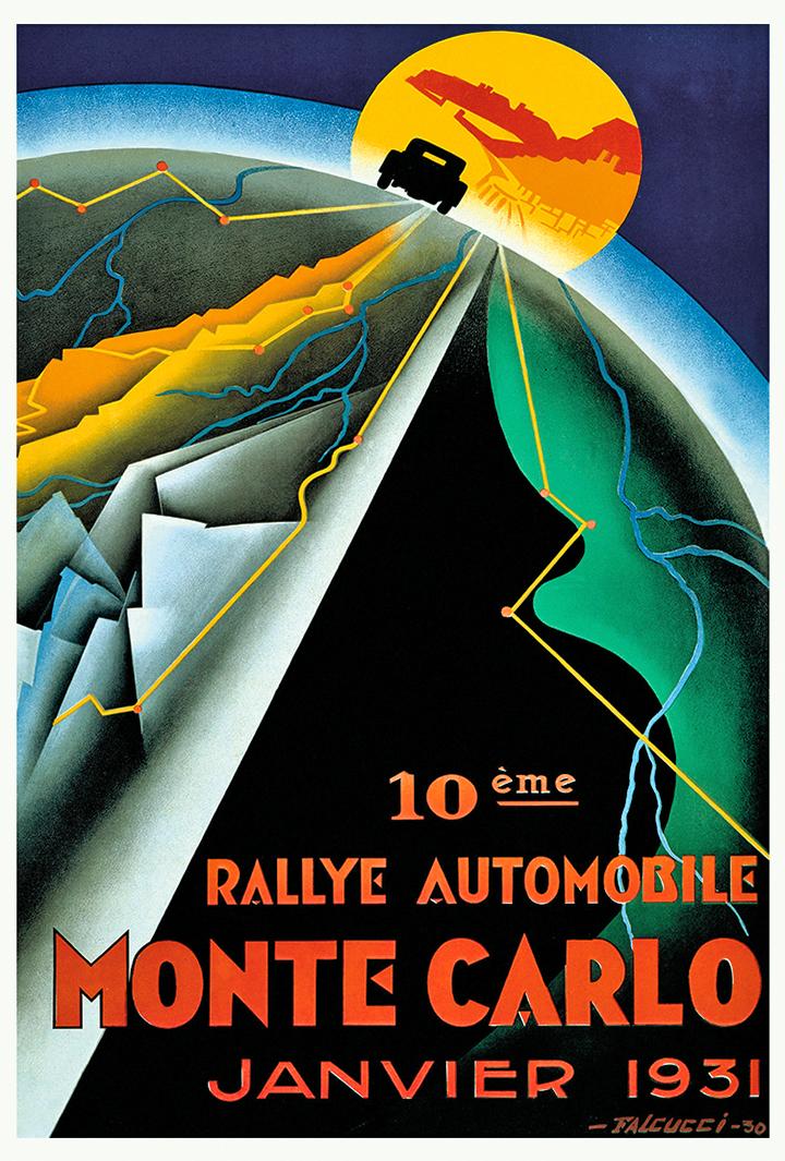 RALLYE MONTE-CARLO 1931