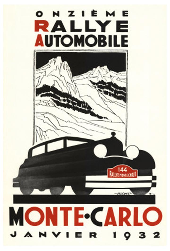 RALLYE MONTE-CARLO 1932