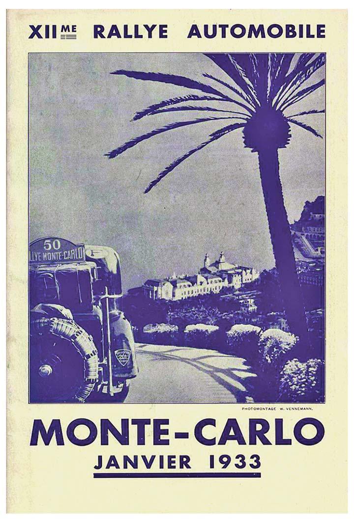 RALLYE MONTE-CARLO 1933