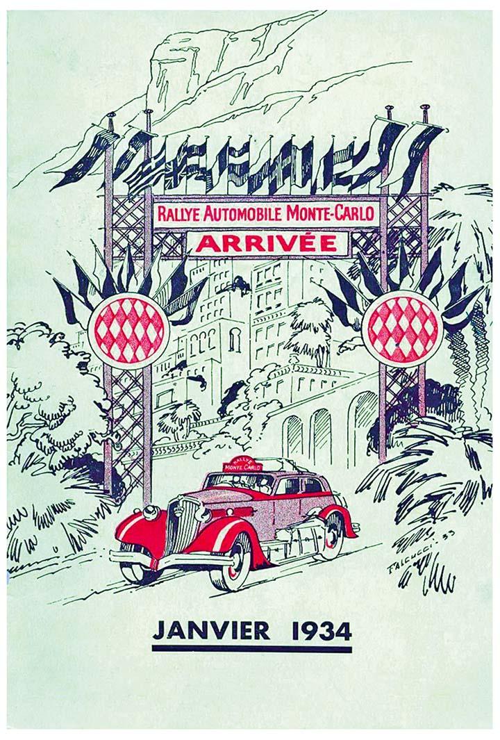 RALLYE MONTE-CARLO 1934