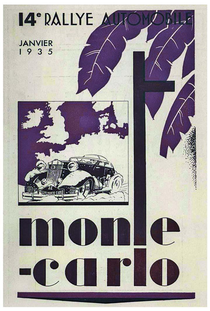 RALLYE MONTE-CARLO 1935