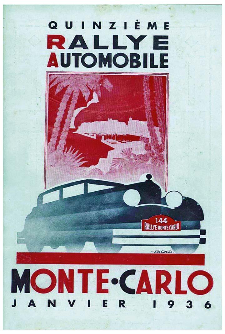 RALLYE MONTE-CARLO 1936