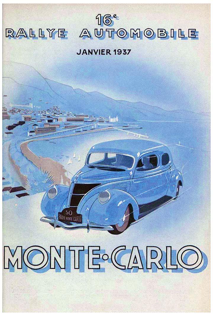 RALLYE MONTE-CARLO 1937