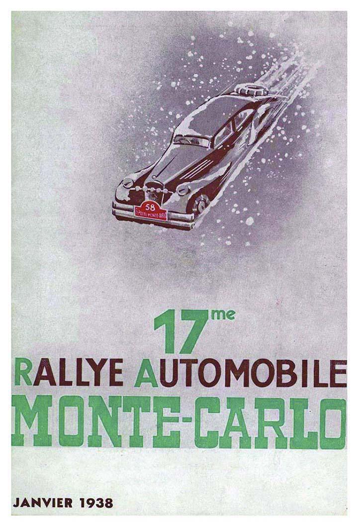 RALLYE MONTE-CARLO 1938