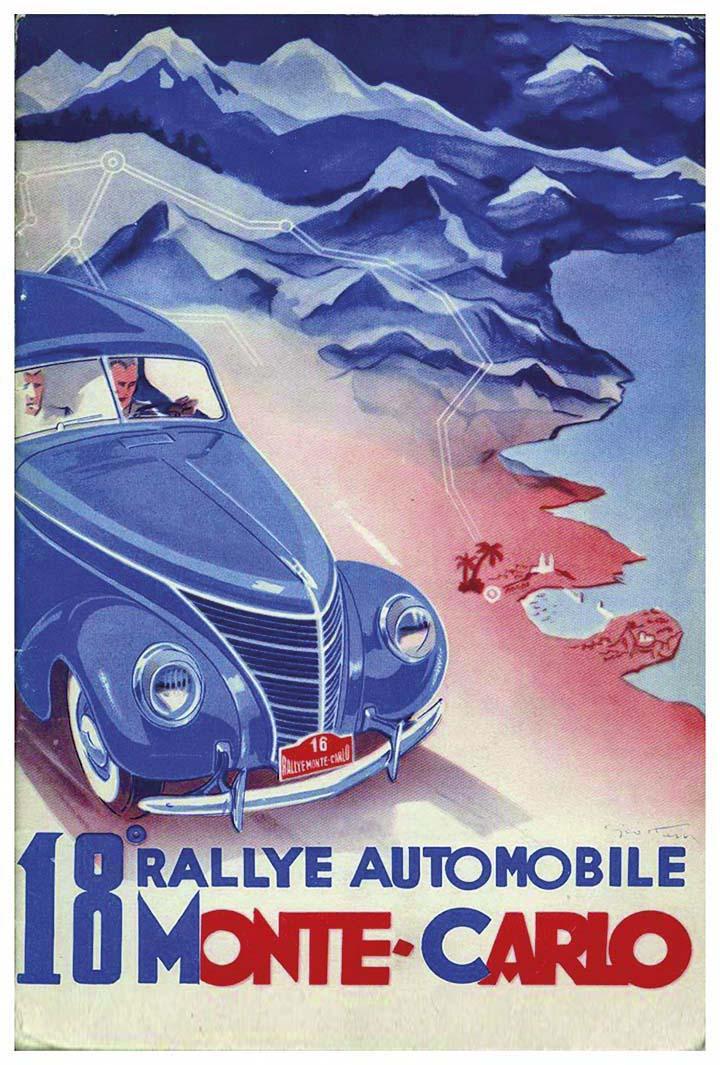 RALLYE MONTE-CARLO 1939