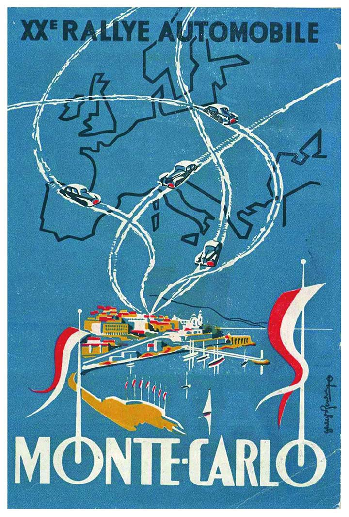 RALLYE MONTE-CARLO 1950