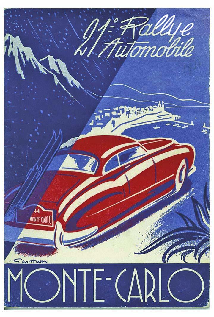 RALLYE MONTE-CARLO 1951