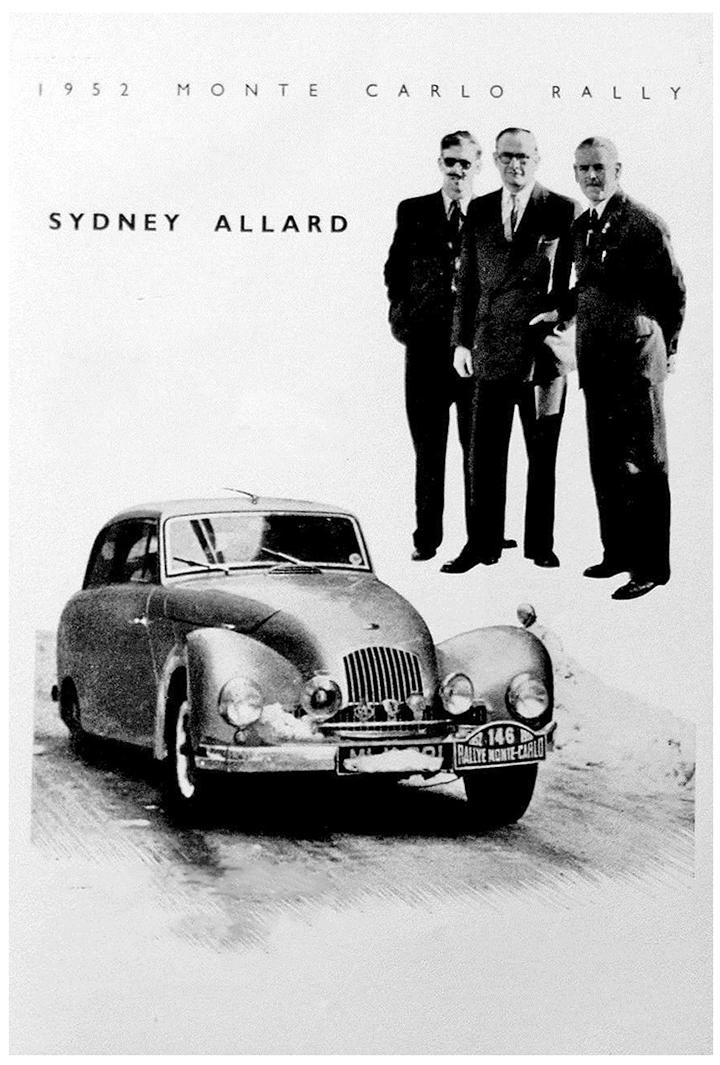 RALLYE MONTE-CARLO 1952
