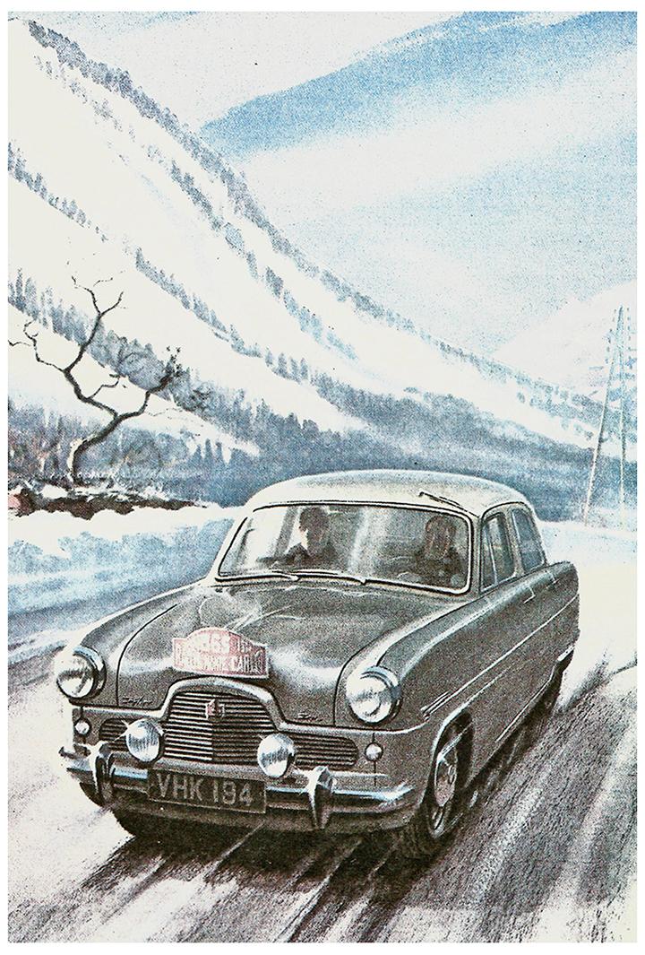 RALLYE MONTE-CARLO 1953