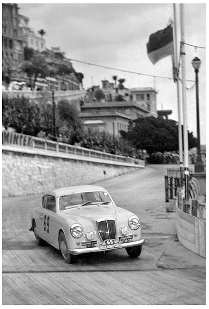 RALLYE MONTE-CARLO 1954