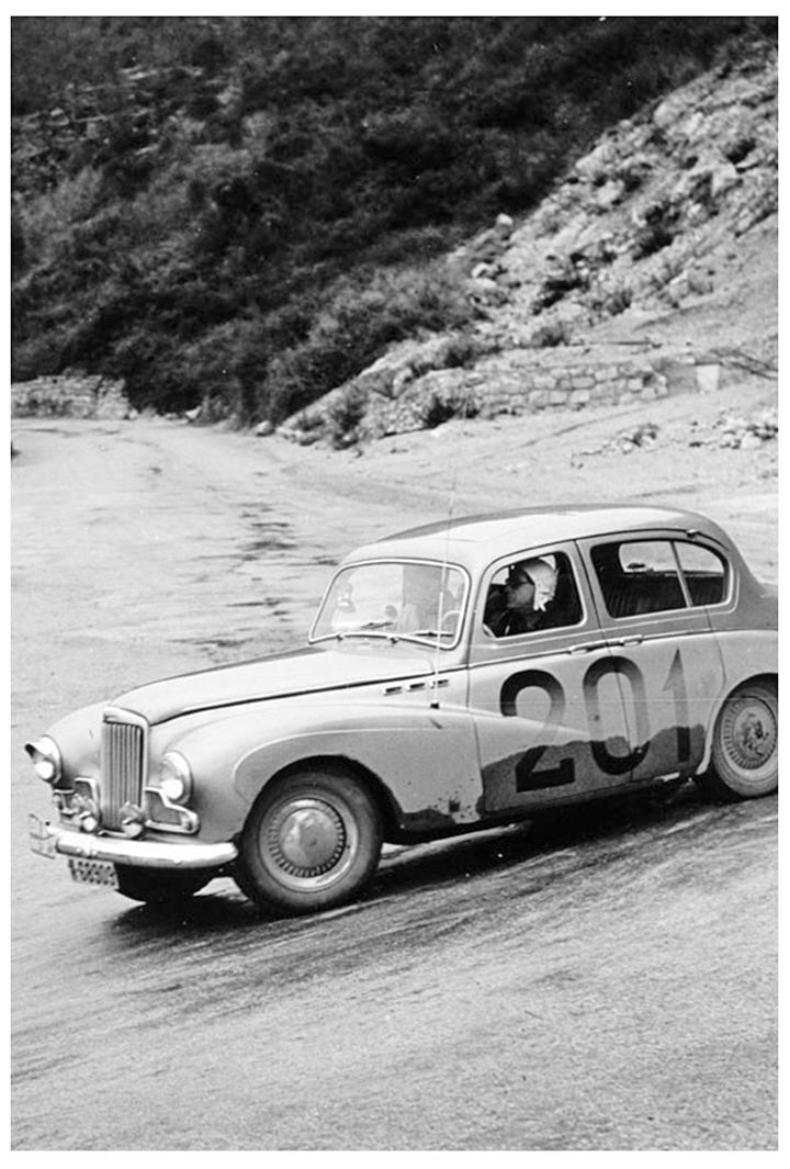 RALLYE MONTE-CARLO 1955