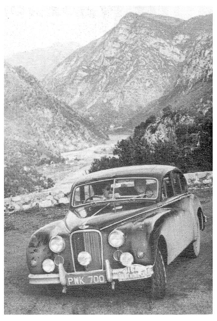 RALLYE MONTE-CARLO 1956