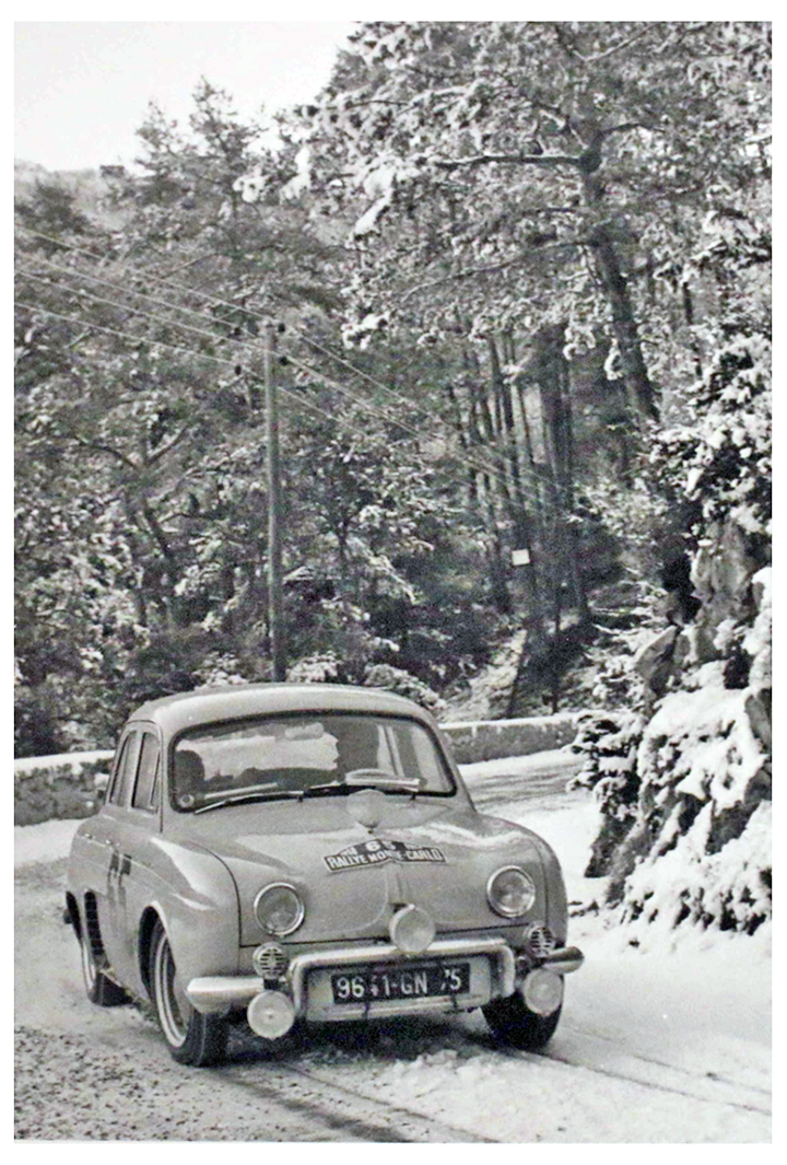 RALLYE MONTE-CARLO 1958