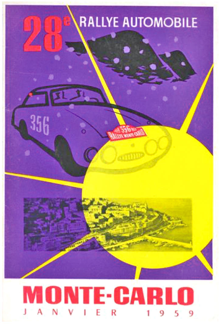 RALLYE MONTE-CARLO 1959