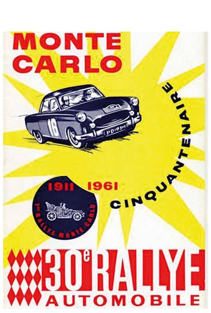 RALLYE MONTE-CARLO 1961