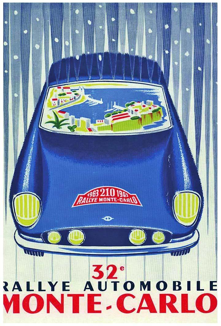 RALLYE MONTE-CARLO 1963