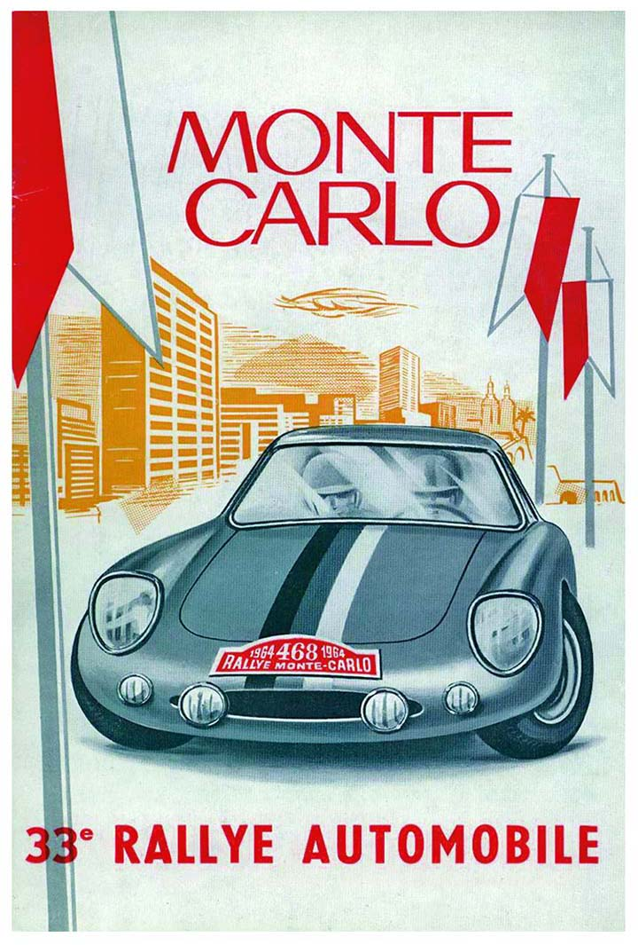 RALLYE MONTE-CARLO 1964