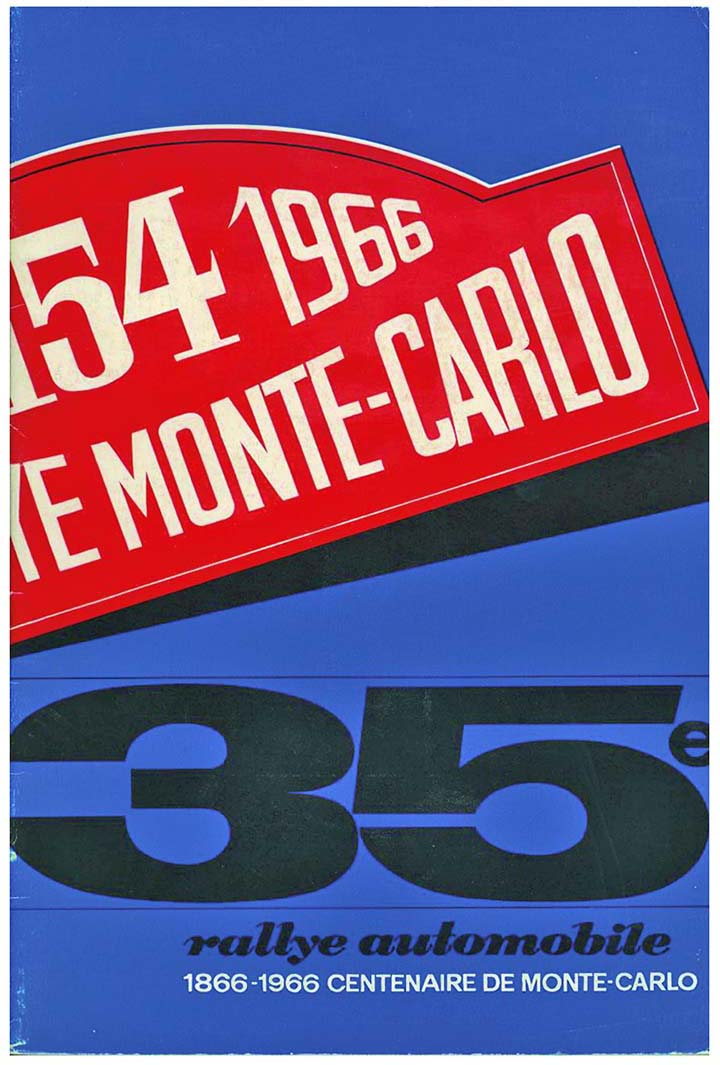 RALLYE MONTE-CARLO 1966