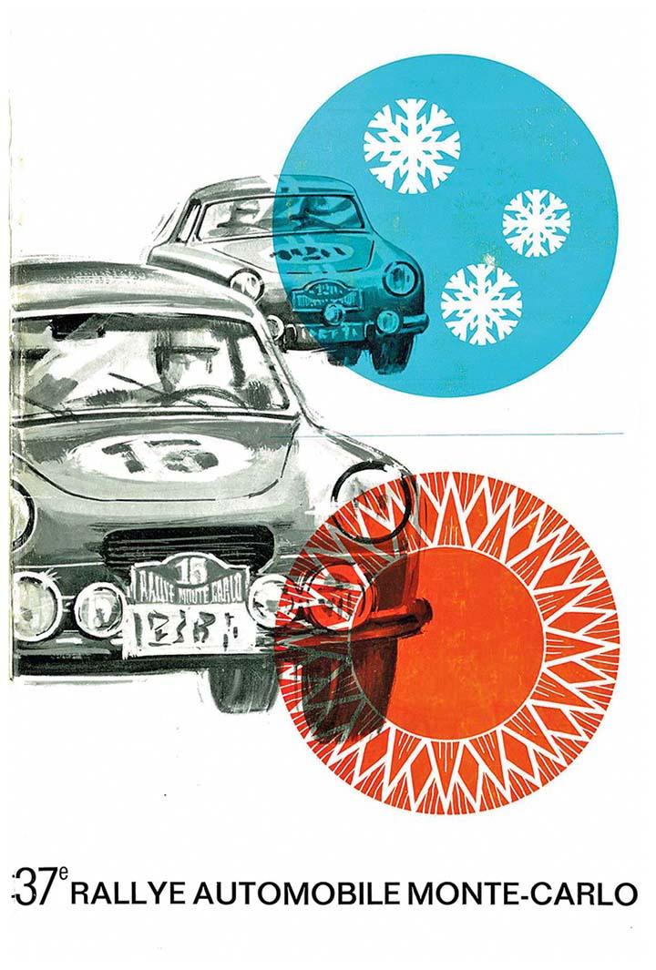 RALLYE MONTE-CARLO 1968